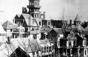 Winchester Mystery House Scary Exterior Tower