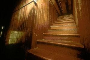 Winchester Mystery House Stairs to the ceiling