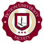 fiction university faculty logo