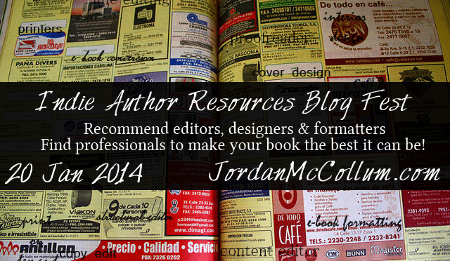 Indie author resources blog fest!
