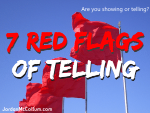 red flag telling