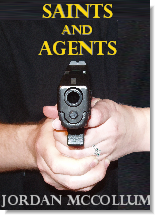 mock cover for Saints and Agents