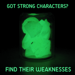 Finding Your Character's Weakness